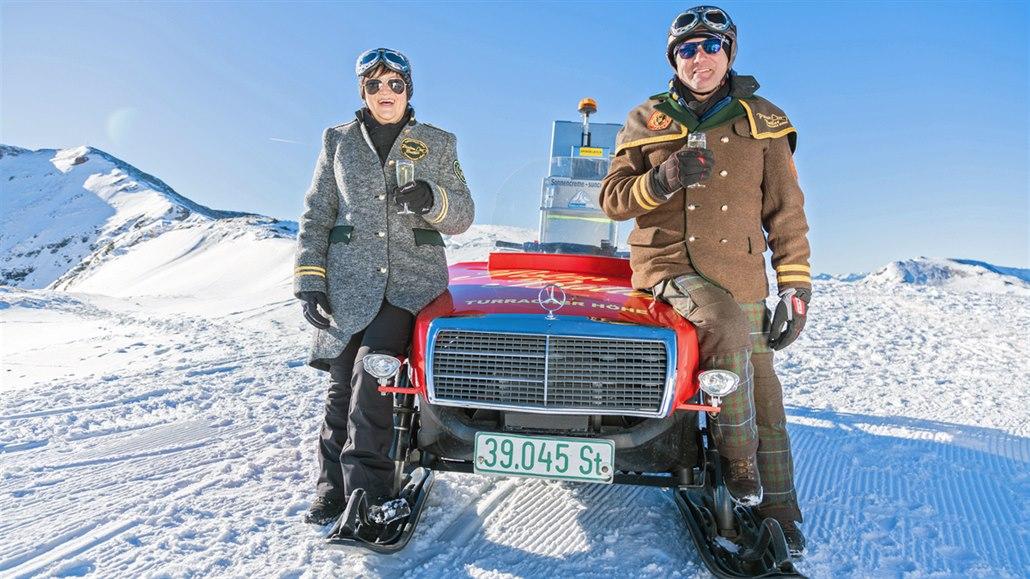 Nenápadný zimní ráj v Rakousku. V Nočkových horách vás obslouží i komorník