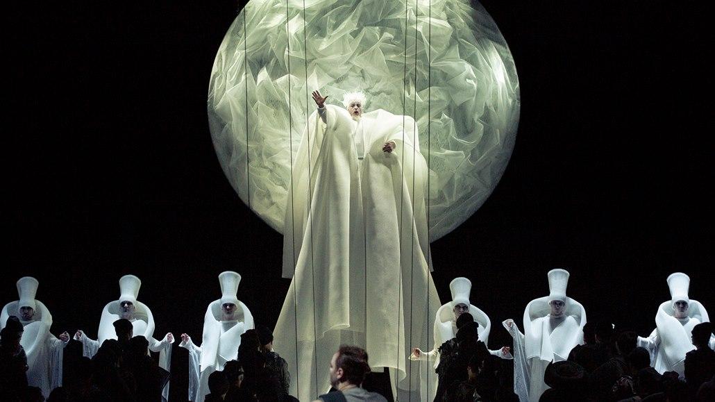 Turandot v Národním divadle oblékl návrhář slovenské prezidentky