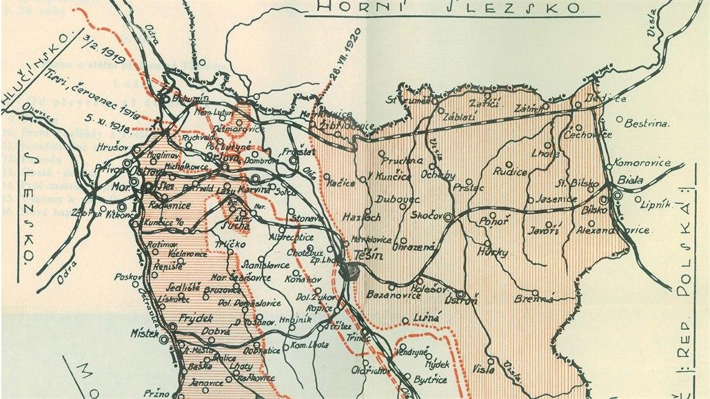 Před 100 lety se vytyčovala hranice mezi ČSR a Polskem. A střílelo se