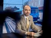 Hostem Rozstřelu je Daniel Adamka, generální ředitel společnosti Arriva. (21....