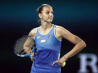 Česká tenistka Karolína Plíšková postoupila do 3. kola Australian Open.