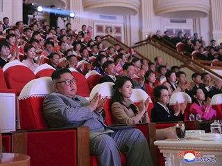 Teta severokorejského vůdce Kim Čong-una se po šesti letech znovu objevila na...