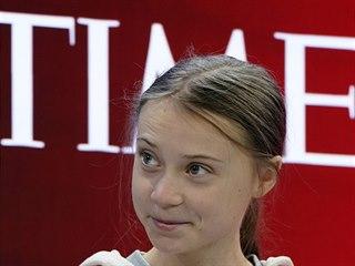 Švédská ekologická aktivistka Greta Thunbergová na jubilejním 50. zasedání...