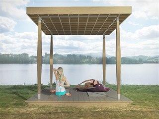 Vizualizace yoga pointu, které se mají do léta objevit na pěti místech...