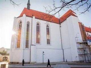 Kostel Obětování Panny Marie je dominantou budějovického Piaristického náměstí....