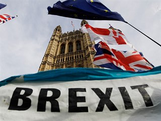 Británie se připravuje na odchod z Evropské unie. (27. ledna 2020)