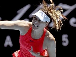 Ruská tenistka Maria Šarapovová na Australian Open.