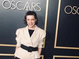 Režisérka snímku Dcera Darja Kaščejevová v Los Angeles před udílením Oscarů