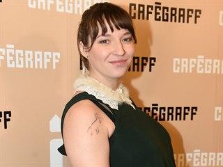 Berenika Kohoutová (Praha, Cafe Graff opening, 23. ledna 2020)