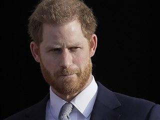 Princ Harry (Londýn, 16. ledna 2020)