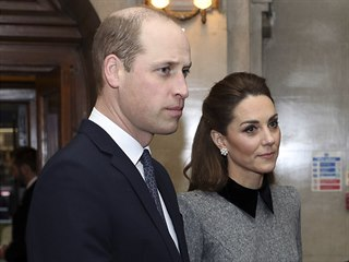 Princ William a vévodkyně Kate na připomínce Mezinárodního dne památky obětí...