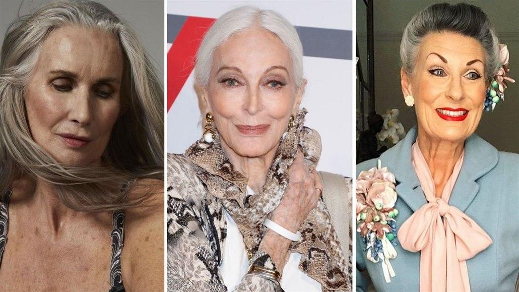 Modelkou v důchodu. Ženy, které propadly kouzlu focení až po šedesátce