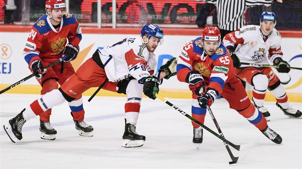 Česko - Rusko 4:3N, mdlý výkon zachránil povedený závěr