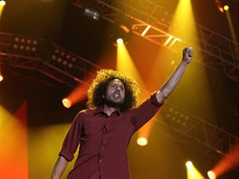 Zack de la Rocha ze skupiny Rage Against The Machine
