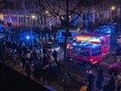 Před víceúčelovou halou Tempodrom v centru Berlína se střílelo. Při incidentu...