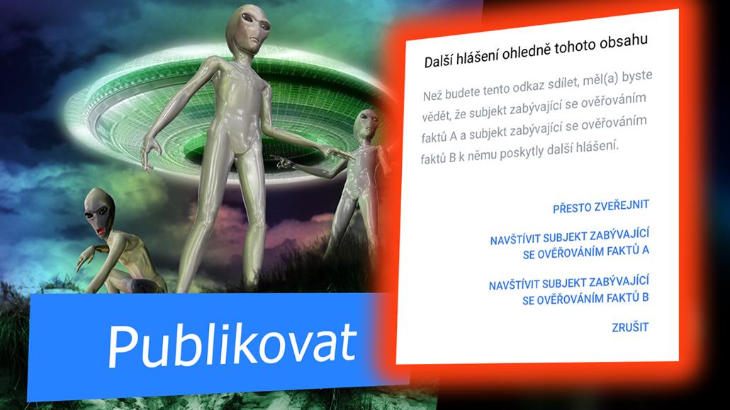Fakt to chceš sdílet? Facebook začne ověřovat pravdivost českých článků