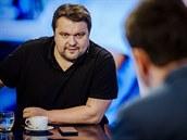Psycholog a párový terapeut Pavel Rataj v diskusním pořadu Rozstřel (12. února...