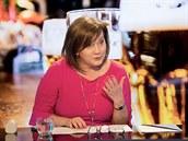 Ministryně financí Alena Schillerová v diskusním pořadu Rozstřel (19. února...