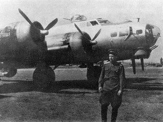 Bombardér B-17 během služby u sovětského letectva