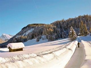 Leutasch je na zimní turisty velmi dobře připravený, kromě běžkařských tras tu...