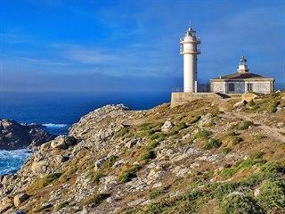 Mys Cabo de Tourinán západně od La Coruni v Galicii