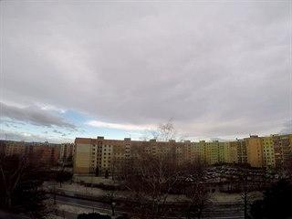Časosběr v Orlové ukazuje vrtochy počasí