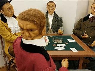 Ústecké muzeum představuje zvláštní lidi z vosku, zaujmou i šokují