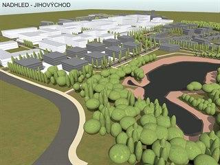 Developer chce zastavět území o rozloze 320 tisíc metrů čtverečných, které je...