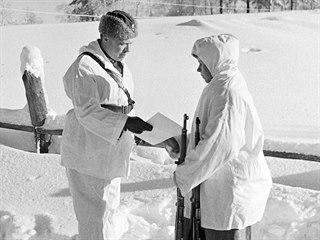 Finský odstřelovač Simo Häyhä