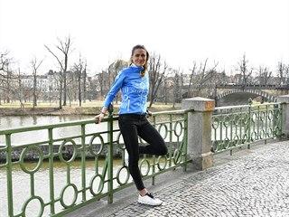 Běžkyně Marcela Joglová.