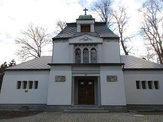 Hřbitovní kaple pro rozloučení pozůstalých s nejbližšími postavená na přelomu...