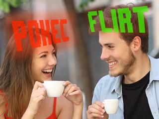 """Muži jsou pověstní tím, že nerozpoznají flirtování od kamarádského """"pokecu""""...."""