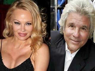 Pamela Andersonová a Jon Peters (2019)