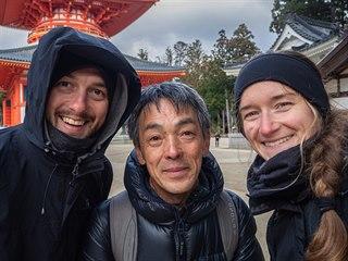 Náš průvodce pan Nishimura