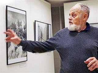 Devětaosmdesátiletý horolezec Jan Červinka otevřel výstavu archivních...