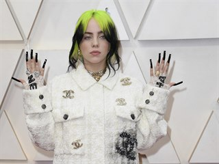 Billie Eilish na Oscarech (Los Angeles, 10. února 2020)