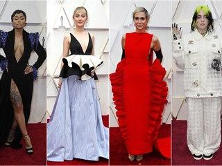 Móda na Oscarech (Los Angeles, 10. února 2020)
