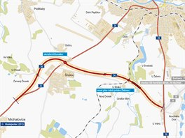 Na svých webových stránkách Ředitelství silnic a dálnic prezentuje jihozápadní...