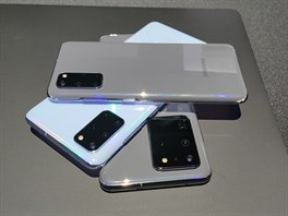 Samsung Galaxy S20 modely