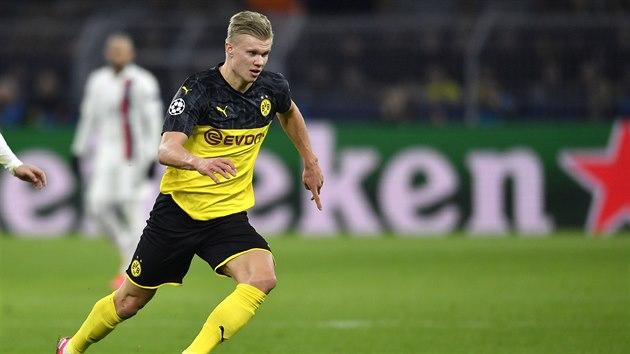 Dortmund přehrál PSG. Zářila mladá hvězda Erling Haaland