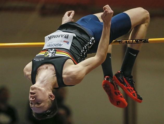 Obhájce titulu Bahník posílil pozici výškařského favorita rekordem