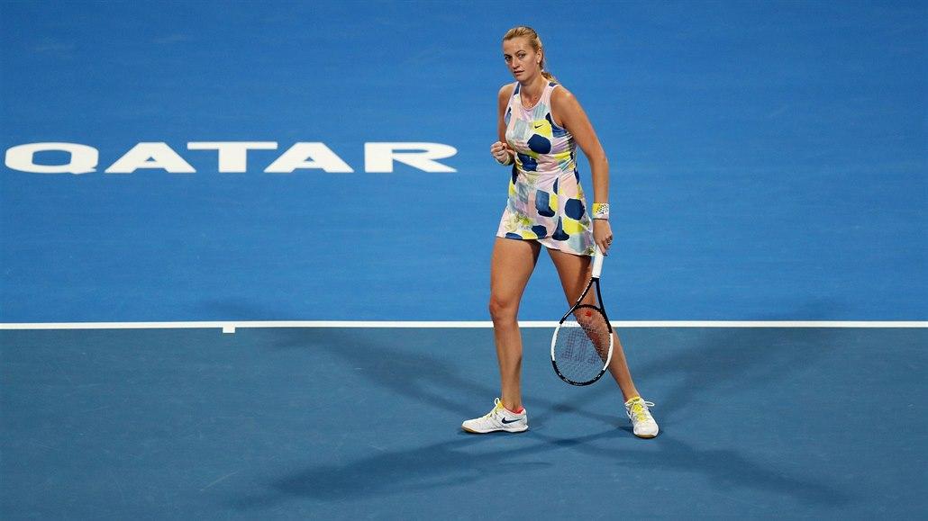 Kvitová si zahraje finále v Dauhá. Strýcová slaví titul ve čtyřhře