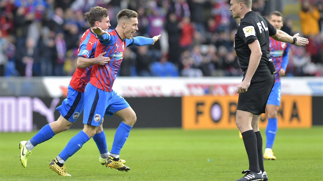 Plzeň - Příbram 4:0, přesvědčivá výhra, hattrickem zazářil Bucha