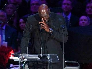 SBOHEM, BRÁCHO...Slzy dojetí stékaly po tvářích basketbalové legendě Michaelu...