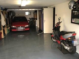 Soutěžní garáž Ivana Stuchlíka z Hořic