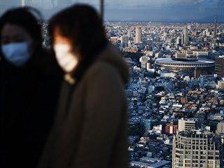 Olympijský stadion v Tokiu je připraven, ale může šířící se koronavirus konání...