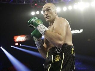 Britský boxer Tyson Fury