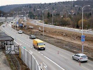 Aktuálně pokračuje v Brně alespoň výstavba části velkého městské okruhu...