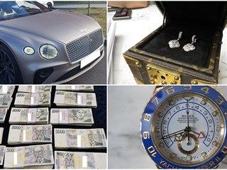 Kriminalisté z Národní centrály proti organizovanému zločinu zabavili...