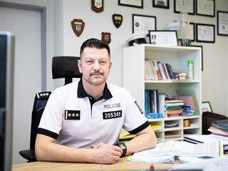 Šéf dopravní policie Jiří Zlý (20. února 2020)
